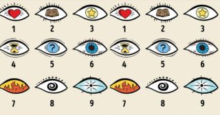 Choose an Eye and Learn Hidden Secrets About Your Personality
