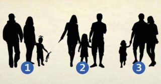 Psychological question: Choose a picture first, read the answer! Which photo is not a family photo?